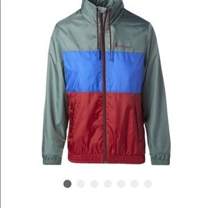 Teca full zip vista Forester color combo nwt